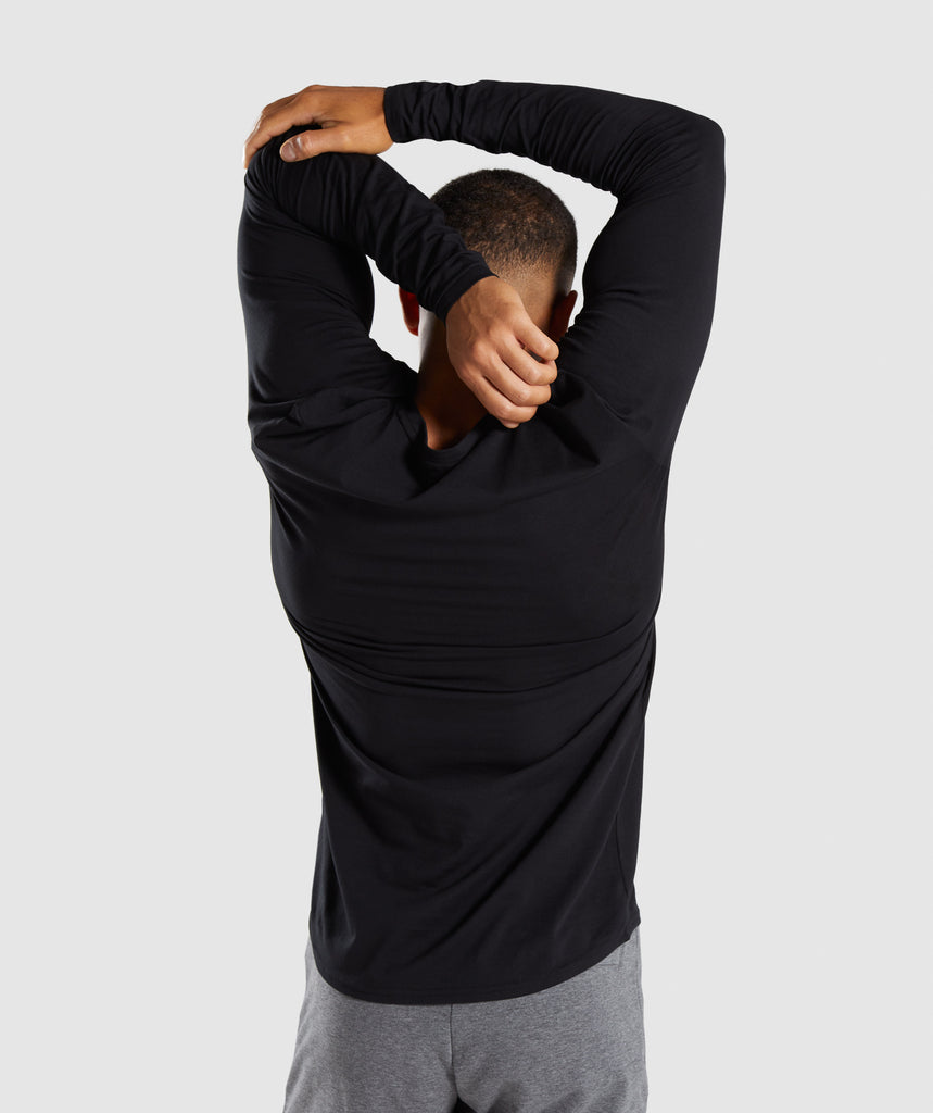 Gymshark Ark Long Sleeve T-Shirt - Black 2