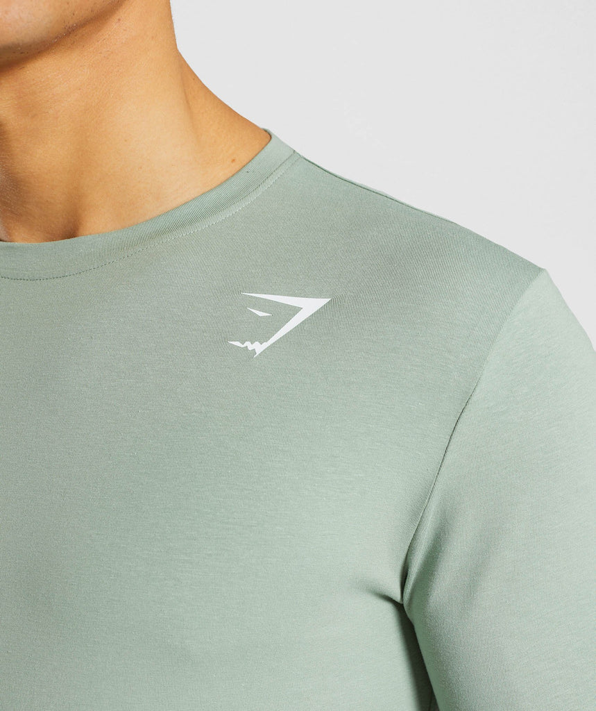 Gymshark Ark T-Shirt - Pale Green 5
