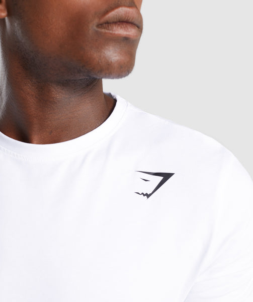 Gymshark Ark T-Shirt - White 4