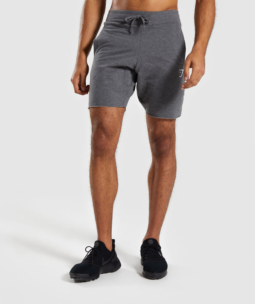 Gymshark Ark Shorts - Charcoal Marl 1