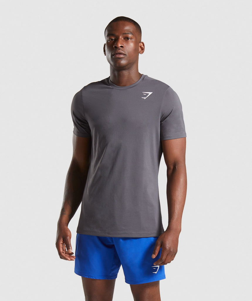 Gymshark Arrival T-Shirt - Charcoal 1