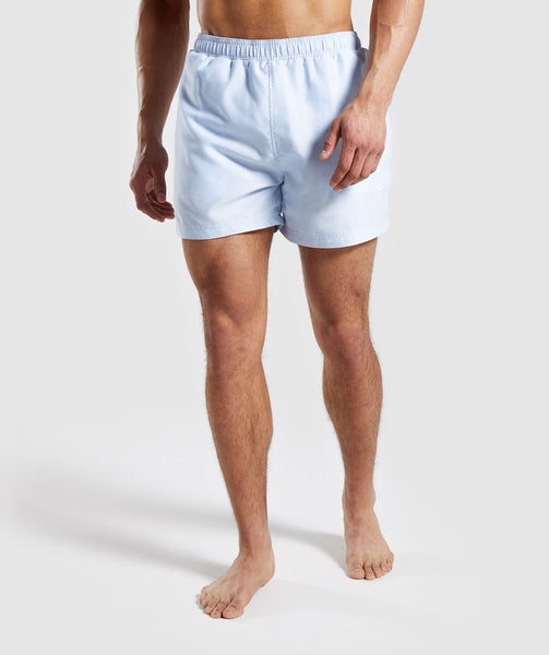 61f5694a18 Gymshark Atlantic Swim Shorts - Light Blue | Gymshark