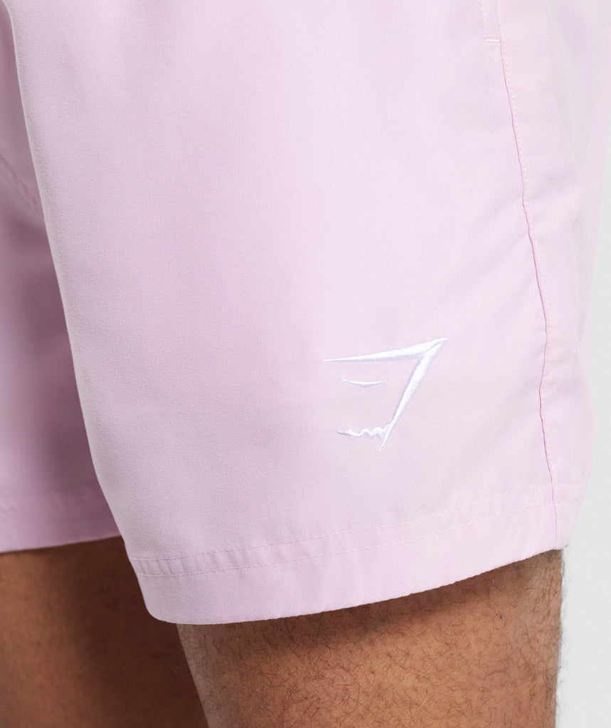 Gymshark Atlantic Swim Shorts - Pink 5