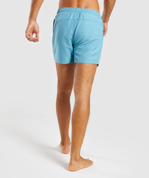 Gymshark Atlantic Swimshorts - Dusky Teal 1
