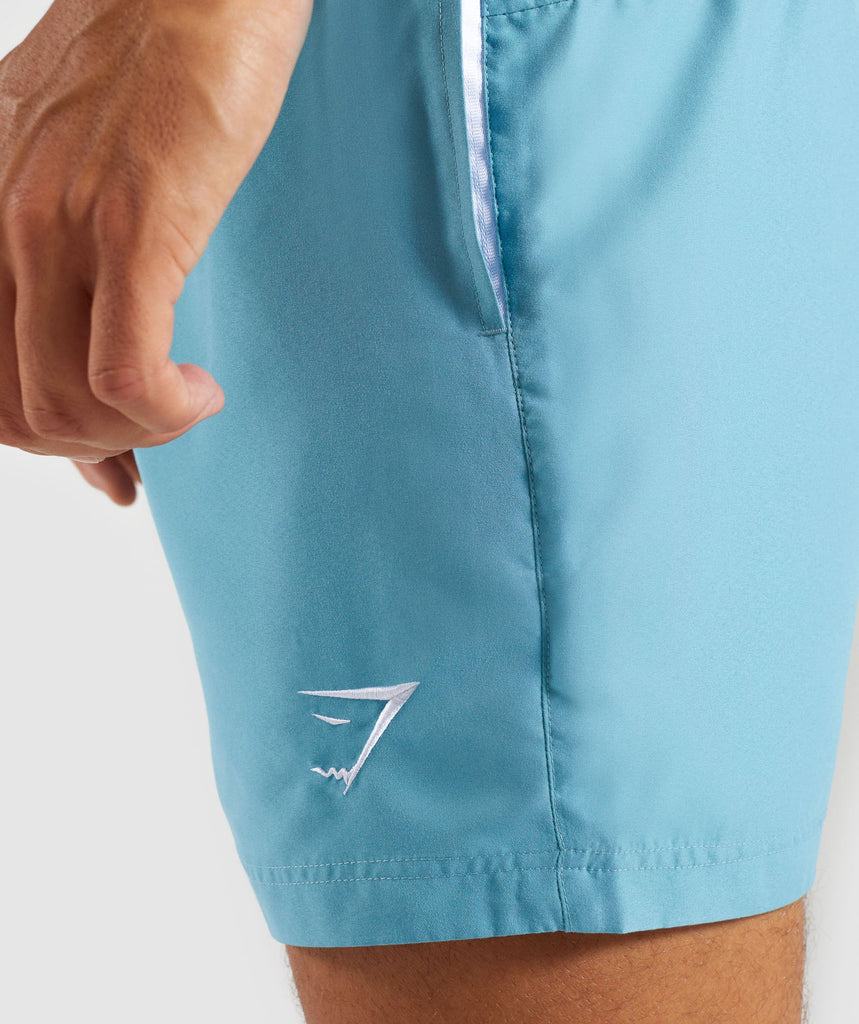 Gymshark Atlantic Swimshorts - Dusky Teal 6