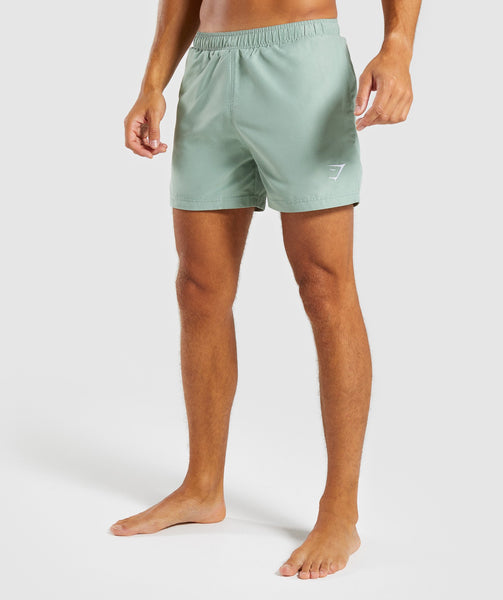 Gymshark Atlantic Swimshorts - Pale Green 4