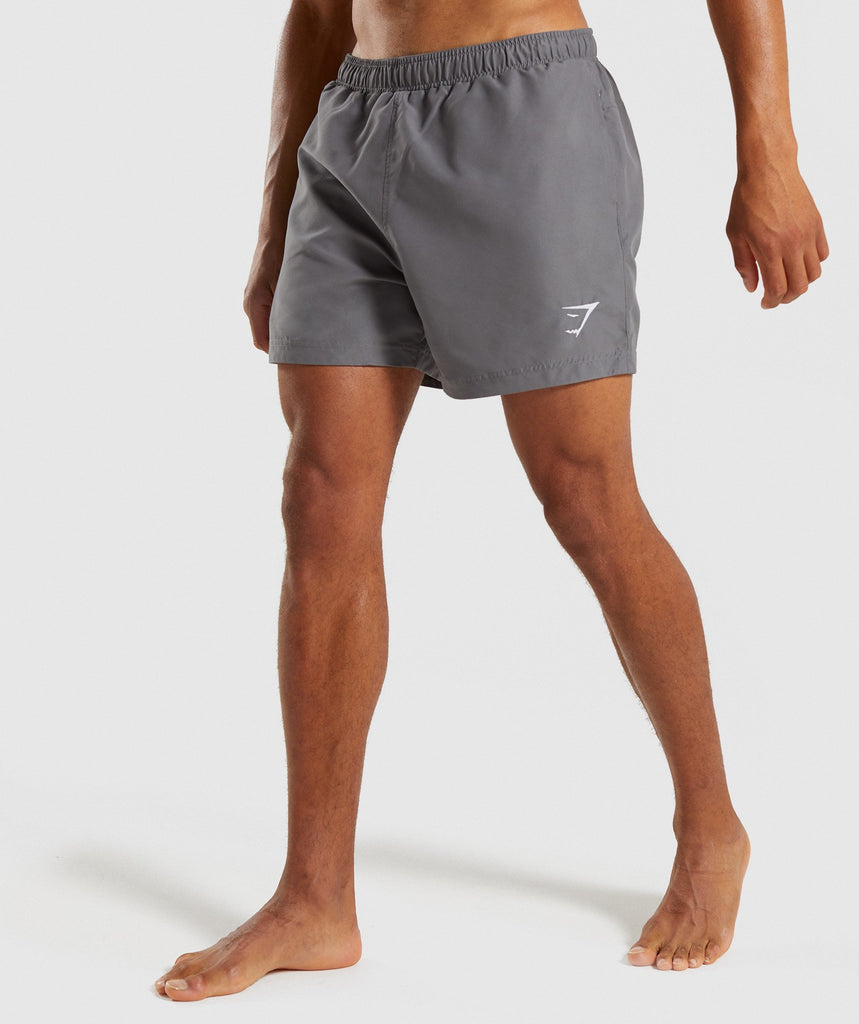 Gymshark Atlantic Swim Shorts - Smokey Grey 1
