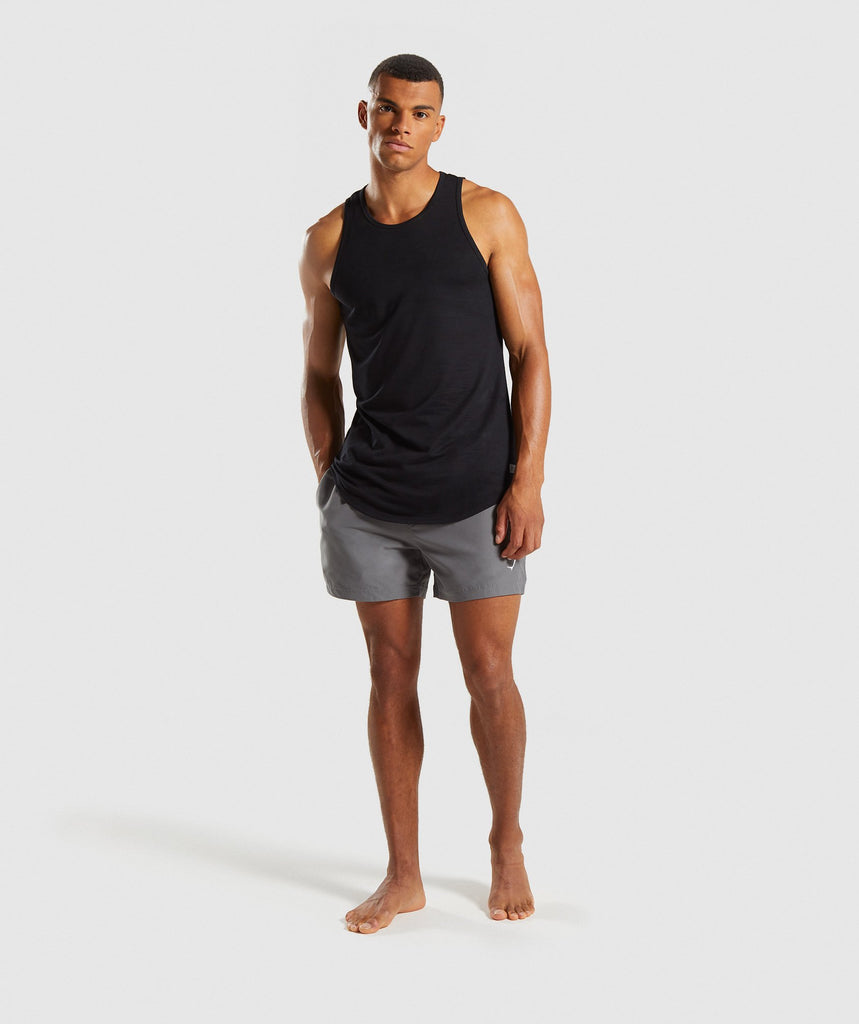 Gymshark Atlantic Swimshorts - Smokey Grey 5