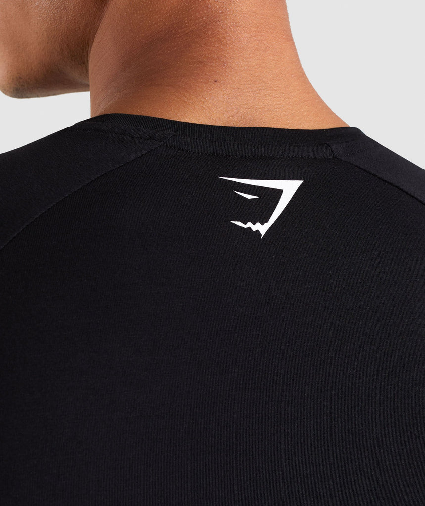 Gymshark Be a Visionary T-Shirt - Black 6