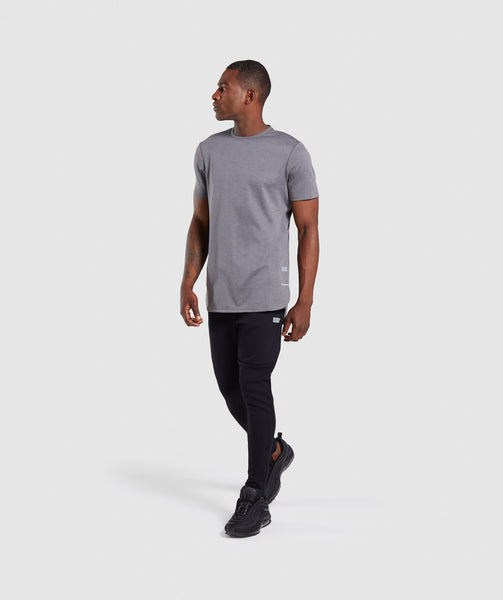 Gymshark Breathe T-Shirt - Smokey Grey Marl 4