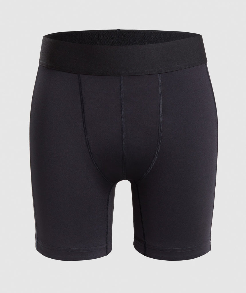 Gymshark Combat Baselayer Shorts - Black 1