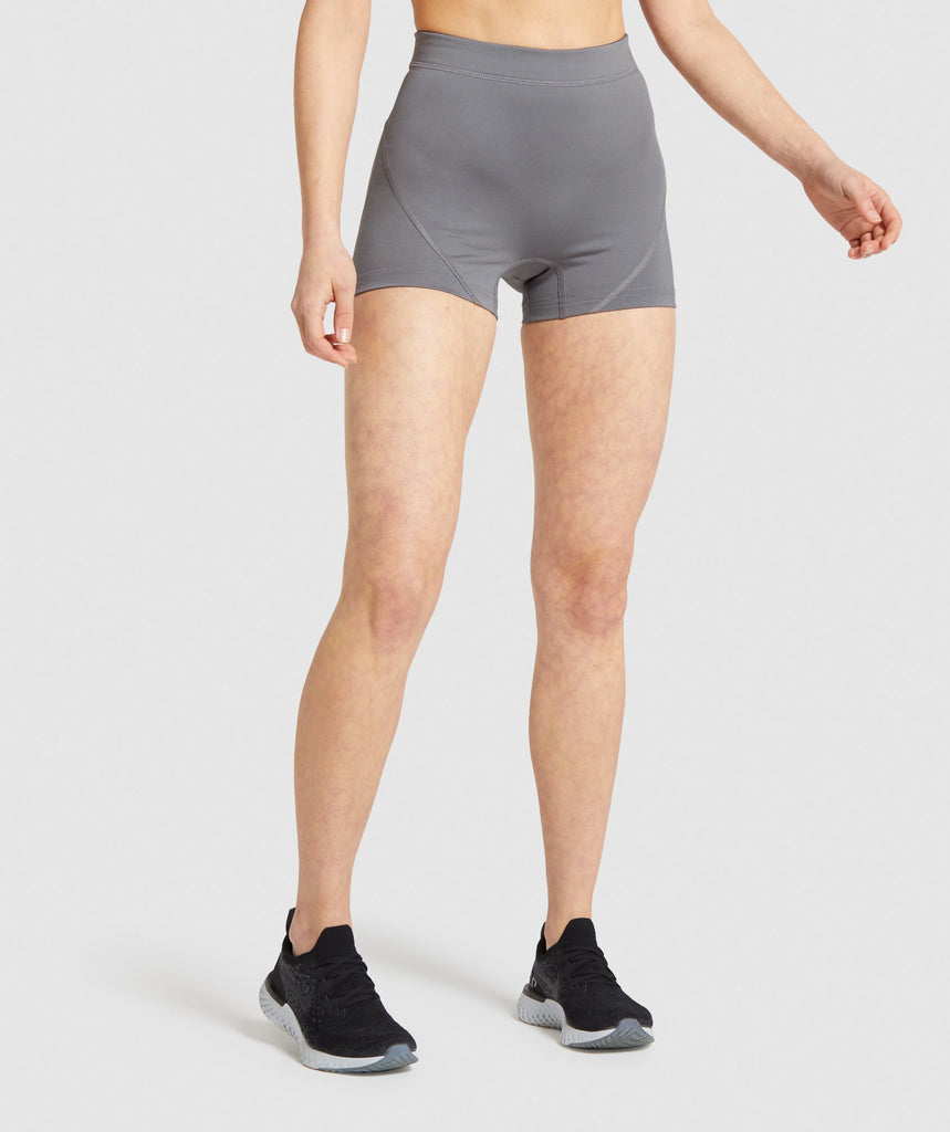 Gymshark Combat Shorts - Smokey Grey 1