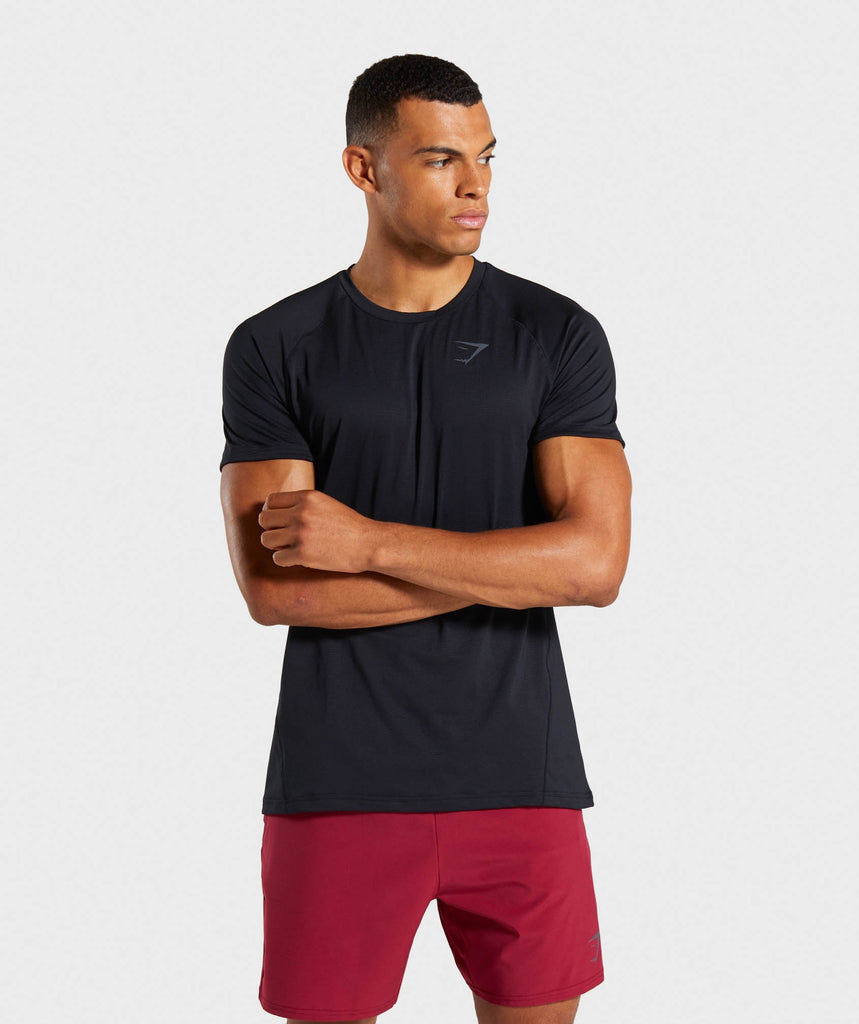 Gymshark Contemporary T-Shirt - Black/Black 1