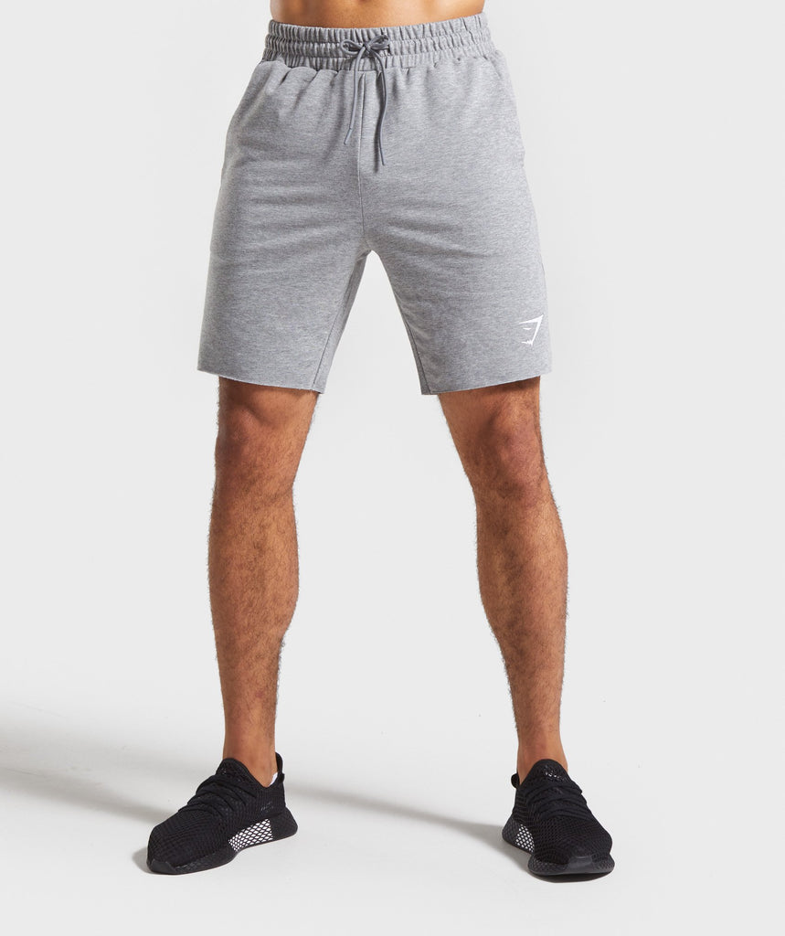 Gymshark Critical Shorts - Grey Marl 1