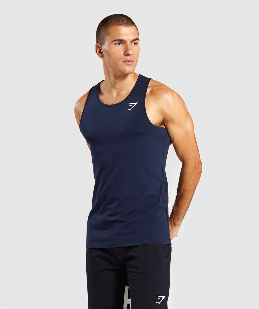 Gymshark Critical Tank - Dark Blue 1