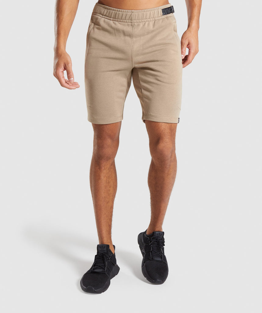 Gymshark Carbon Shorts - Driftwood Brown 1
