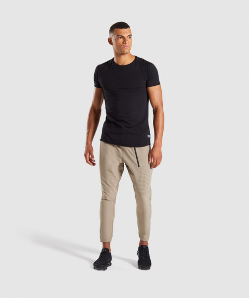 Gymshark Cargo Tech Bottoms - Driftwood Brown 3