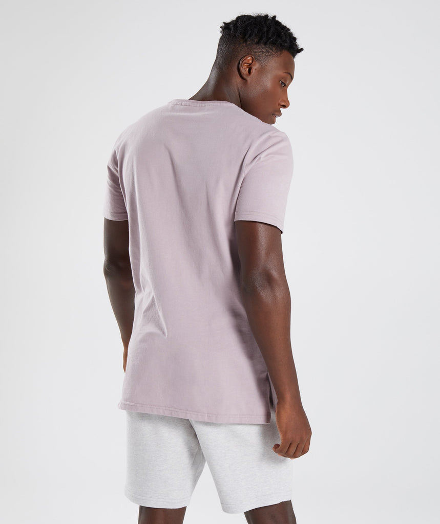 Gymshark City T-Shirt - Purple Chalk 2