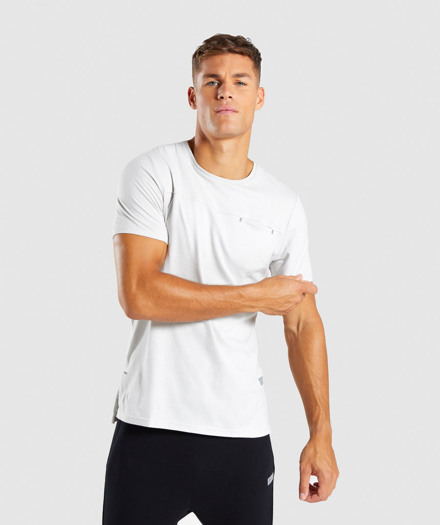 Gymshark City T-Shirt - Wolf Grey 1
