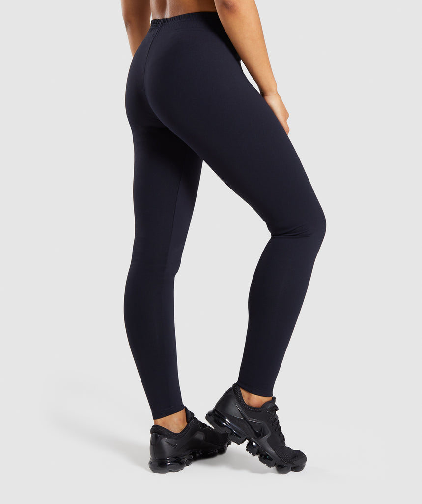 Gymshark Core Leggings - Black 2