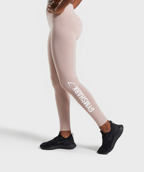 Gymshark Core Leggings - Taupe 2
