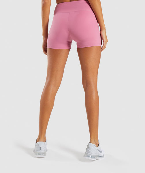 Gymshark Dreamy High Waisted Shorts - Dusky Pink 1