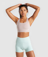Gymshark Dreamy Sports Bra - Taupe 7