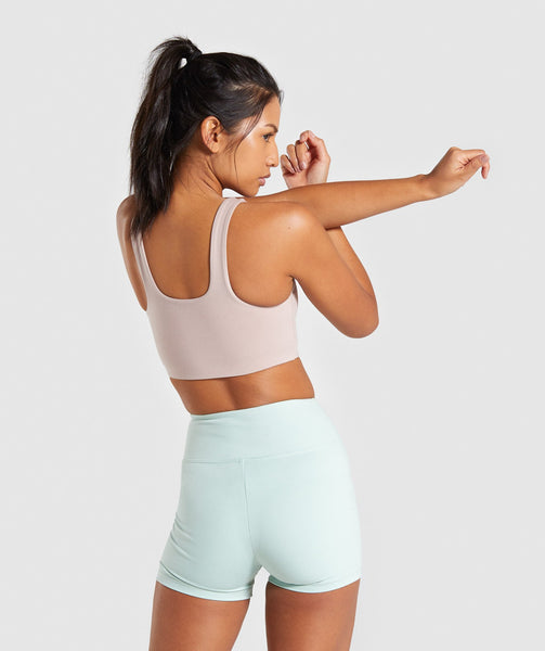 Gymshark Dreamy Sports Bra - Taupe 4