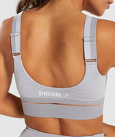 Gymshark Embody Sports Bra - Light Grey Marl 11