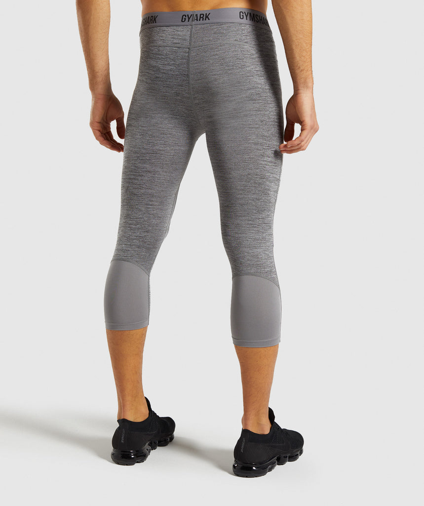 Gymshark Element+ Baselayer 3/4 Leggings - Smokey Grey 2