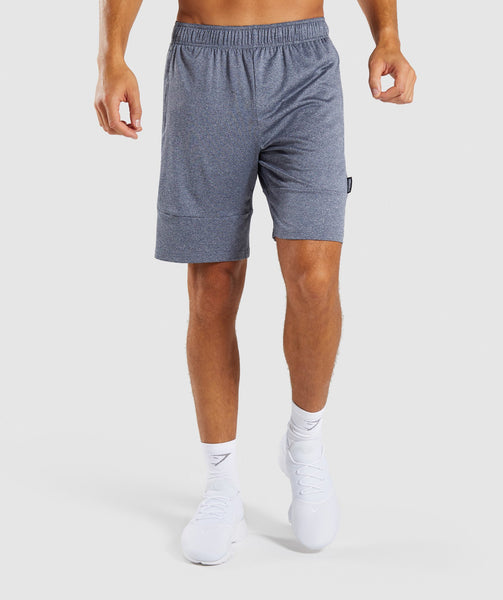 Gymshark Element Shorts - Aegean Blue Marl 4