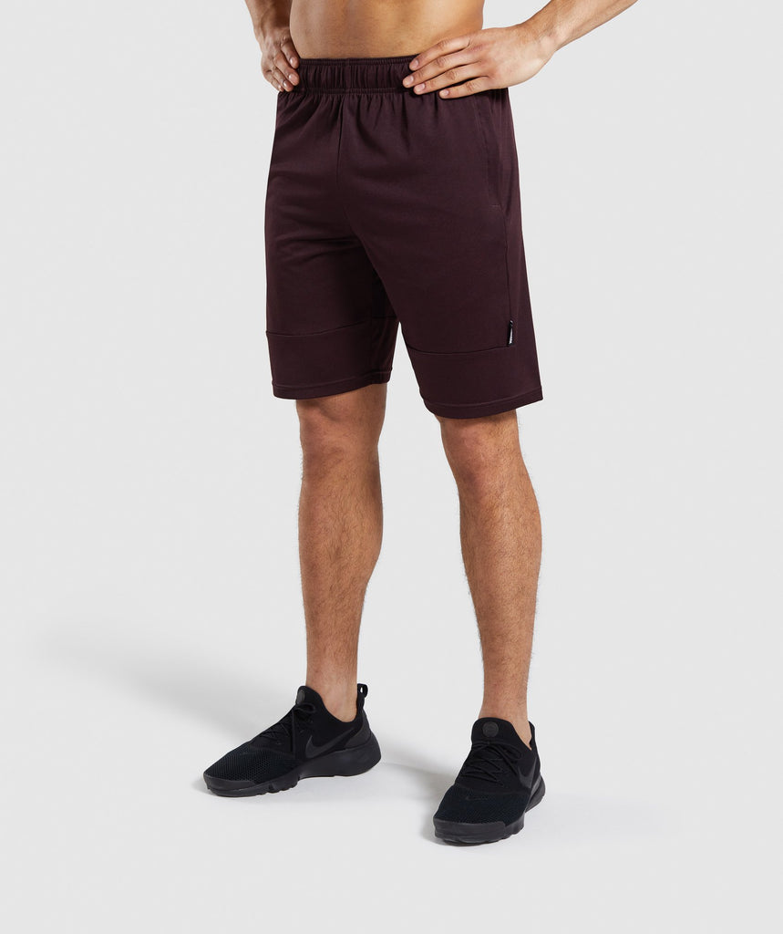 Gymshark Element Shorts - Ox Red 1
