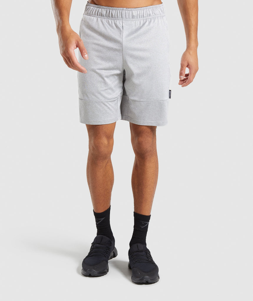 Gymshark Element Shorts - Light Grey Marl 1
