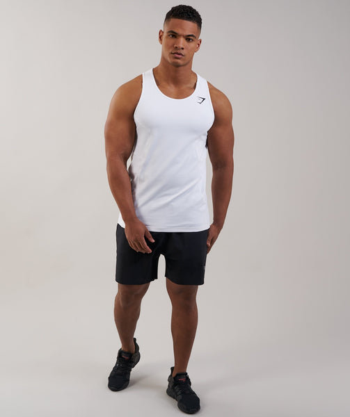 Gymshark Element Tank - White 3