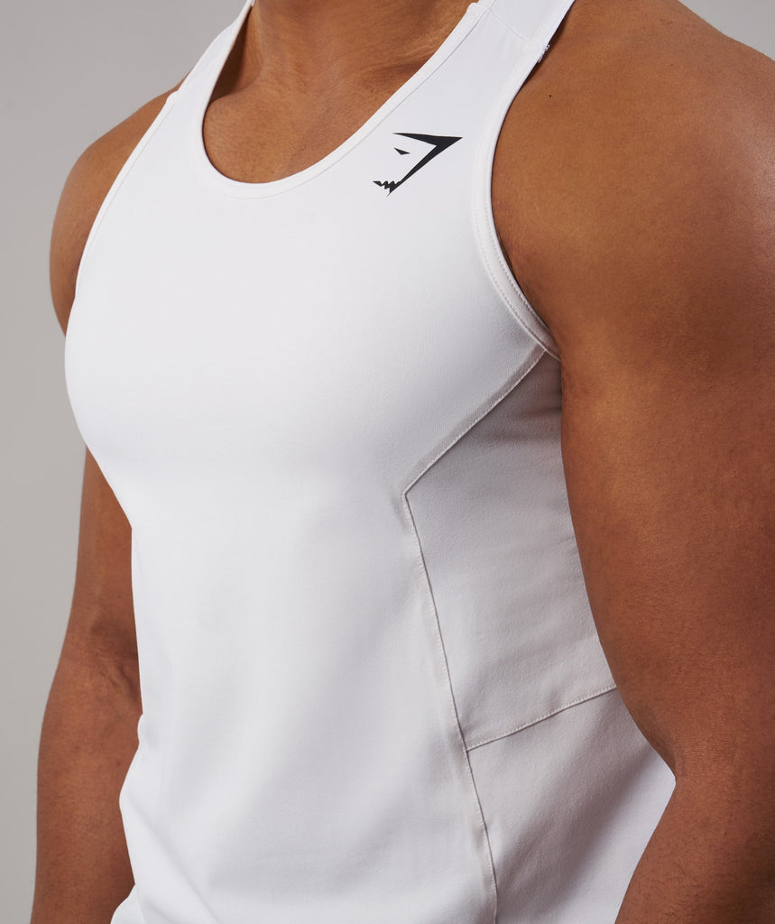 Gymshark Element Tank - White 5