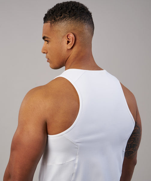 Gymshark Element Tank - White 4