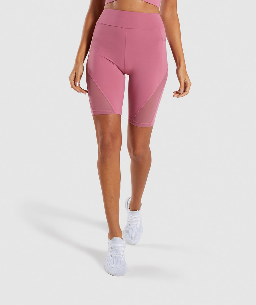 Gymshark Elevate Cycling Short - Dusky Pink 1