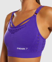Gymshark Energy+ Seamless Sports Bra - Indigo 11
