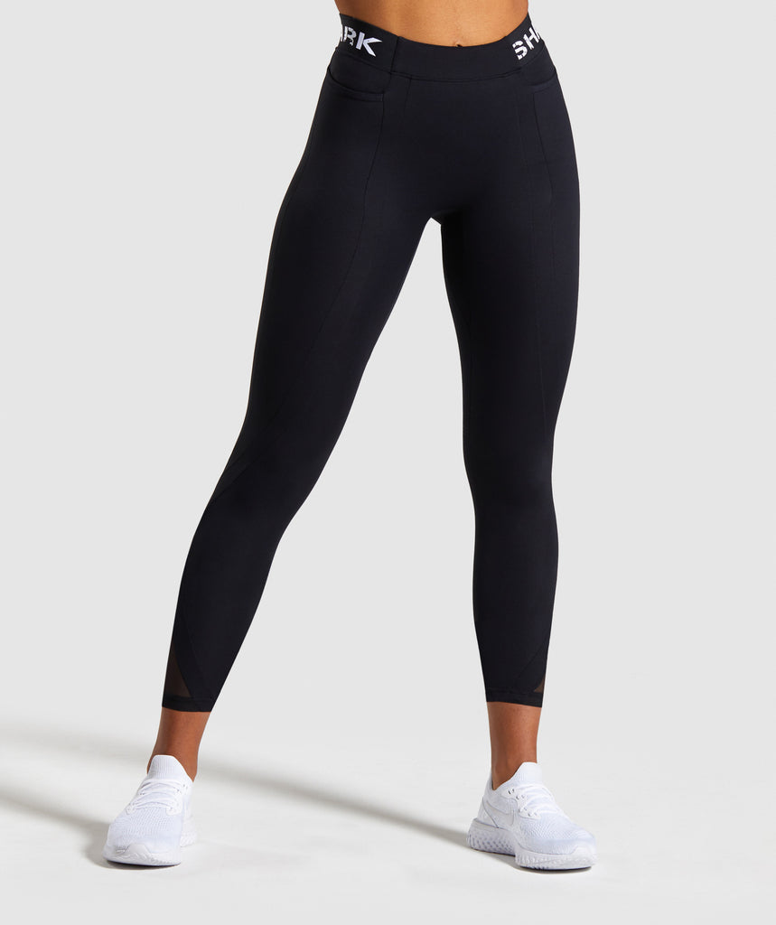 Gymshark Legacy Fitness 7/8 Leggings - Black 1