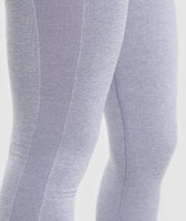 Gymshark Flex High Waisted Leggings - Blue/Grey 11
