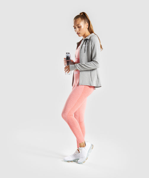 Gymshark Flex Leggings - Peach Coral 3