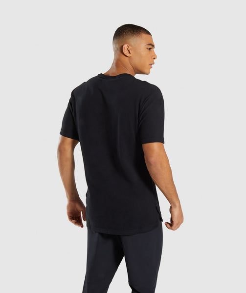 Gymshark Fresh T-Shirt - Black 1