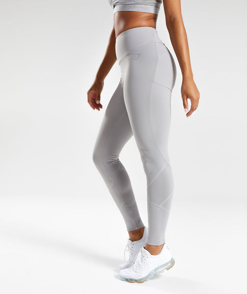 Gymshark Fused Ankle Leggings - Light Grey 2