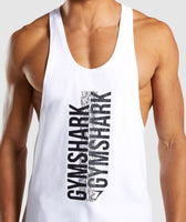 Gymshark Ascend Stringer - White 11