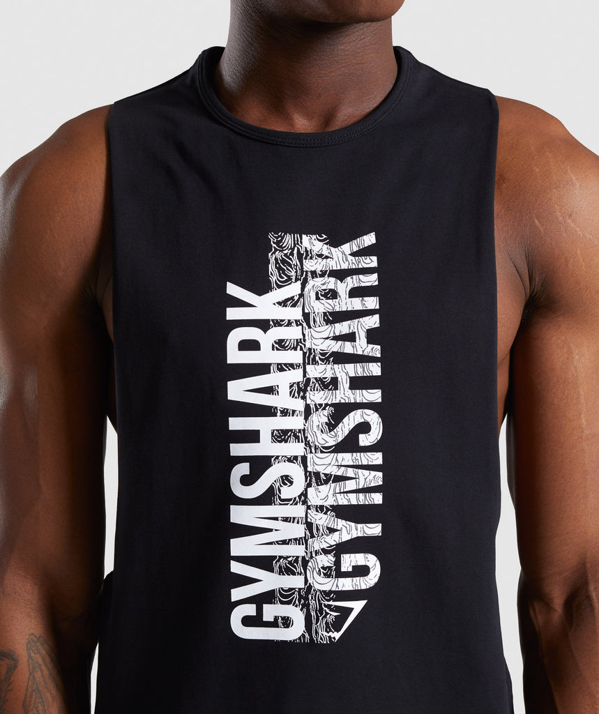 Gymshark Ascend Tank - Black 6