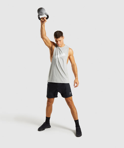 Gymshark Score Tank - Light Grey Marl 3