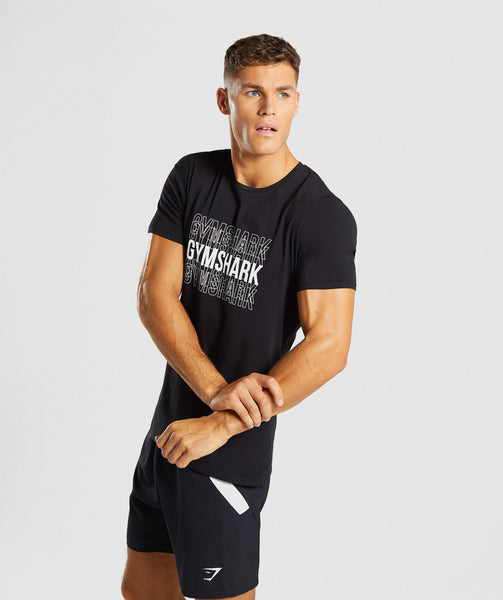 Gymshark Haze T-Shirt - Black 2