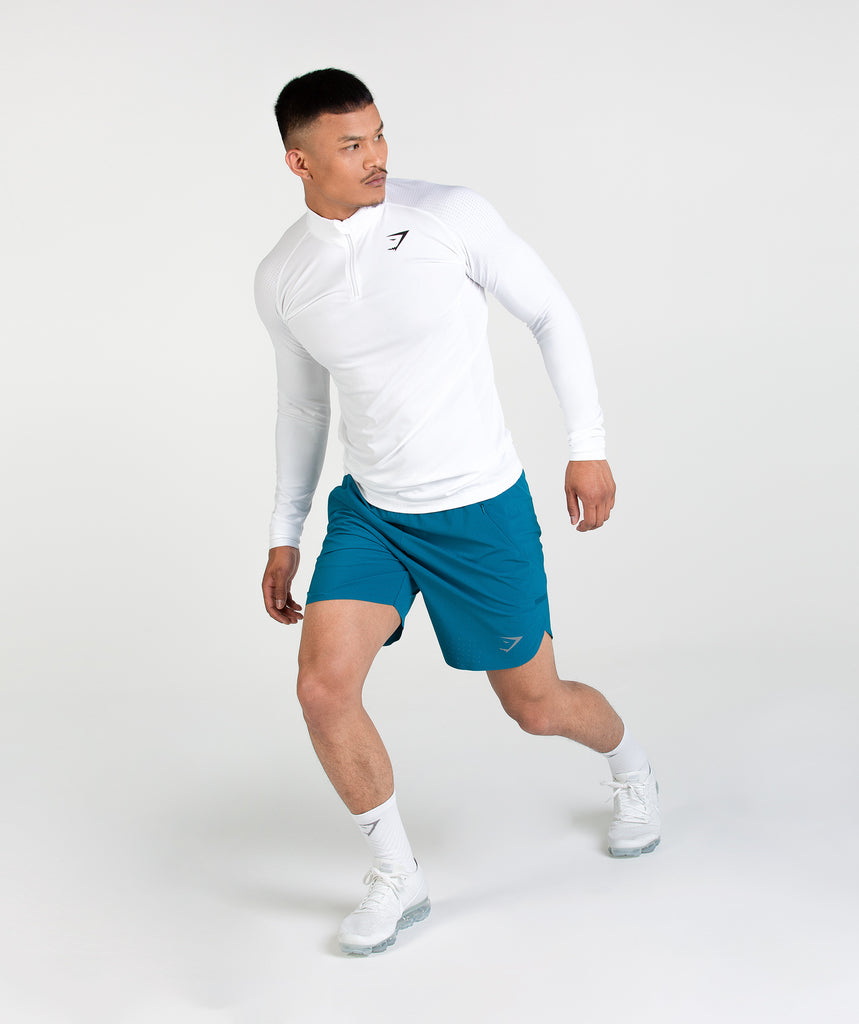 Gymshark Thick Tech Crew Socks - White 2