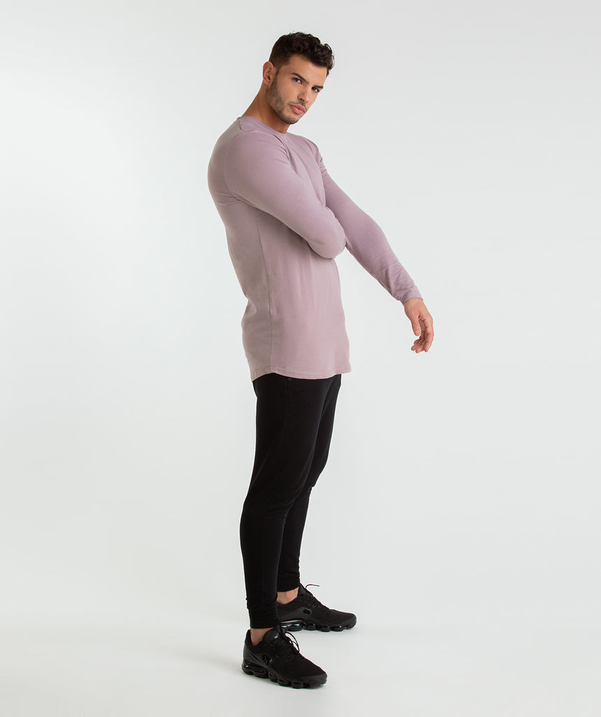 Gymshark Living Long Sleeve T-Shirt - Purple Chalk 5