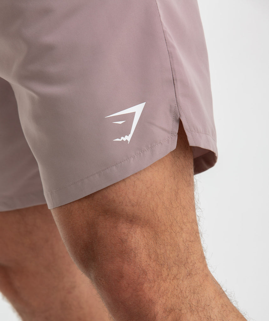 Gymshark Atlantic Swim Shorts - Purple Chalk 5
